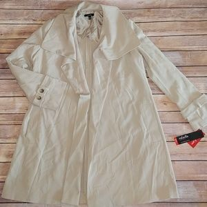 NWT, Rafaella Cream Coat, Size 4